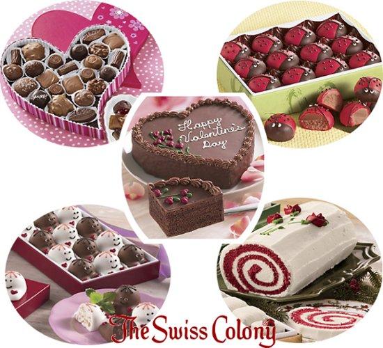 the swiss colony valentine treats