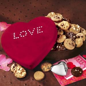 valentine cookie gift box