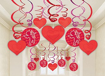 valentine decorations pack