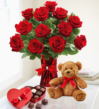 Abundant Love valentine flowers