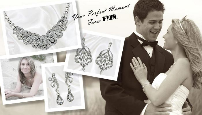vintage bridal jewelry 1928 Bridal jewelry offers simply ravishing glam