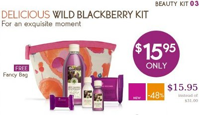 yvesrocher wild blackberry kit