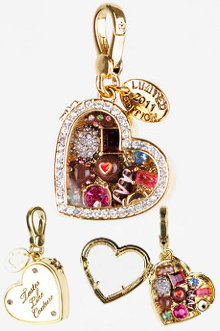 Juicy Couture Limited Edition Box of Chocolates Charm