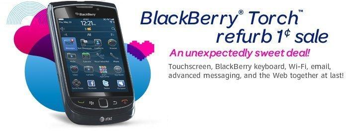 blackberry torch refurbished