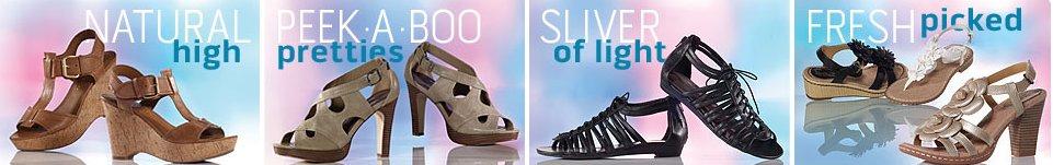 famous footwear women spring trends
