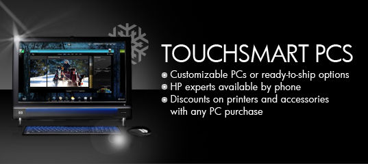 hp touchsmart pcs