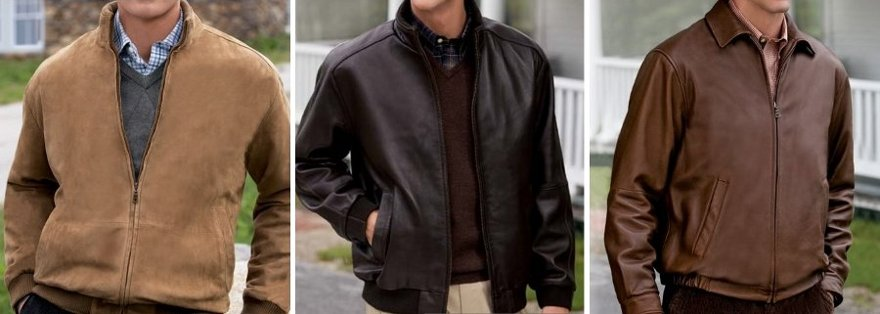 josabank signature leather jackets