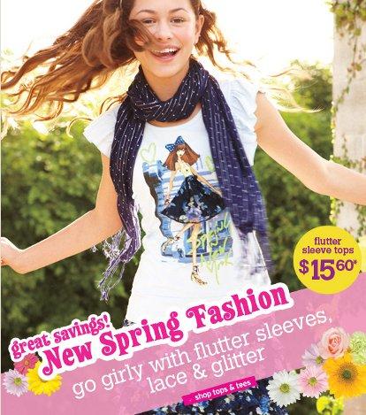 justice spring fashion