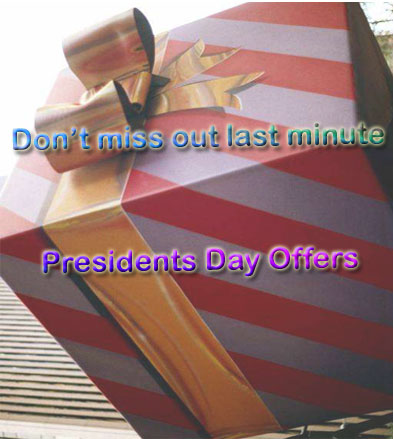 last minute president day offers
