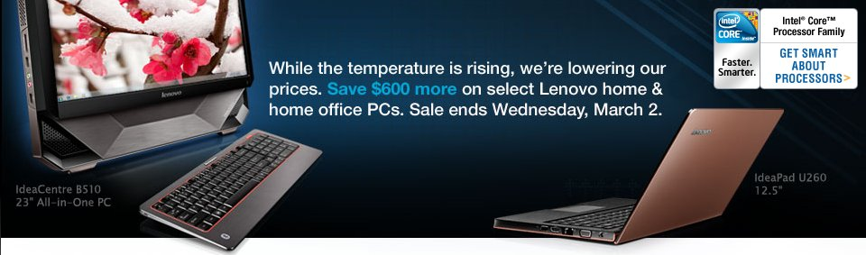 Lenovo Winter sale