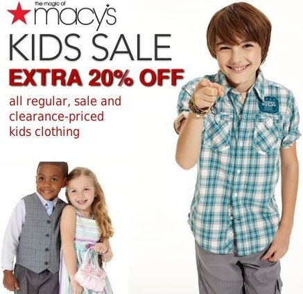 macys kids sale