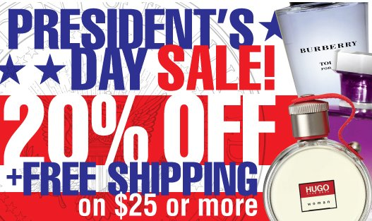 perfumania president day sale