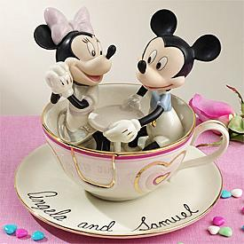 Lenox Mickey And Minnie Teacup Twirl