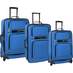 Pierre Cardin Royale 3 Piece Spinner Luggage Set