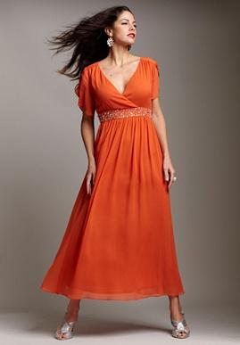 Beaded Waist Dress