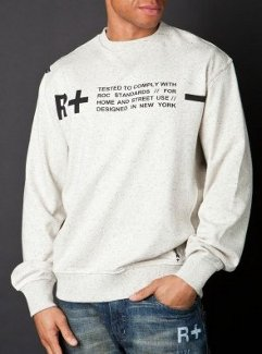 rocawear Tested Roc Fleece Crew