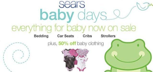 sears baby days