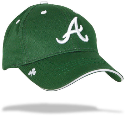 Atlanta Braves St. Patty's Green Hooley Cap