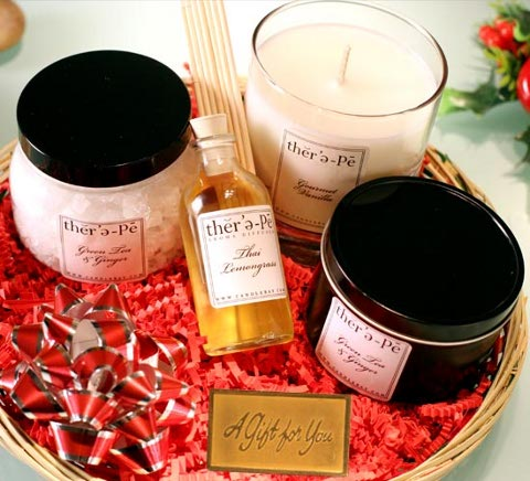 therepe spa candle gift set