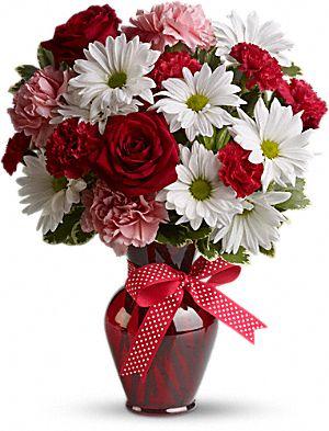 valenitne day flowers