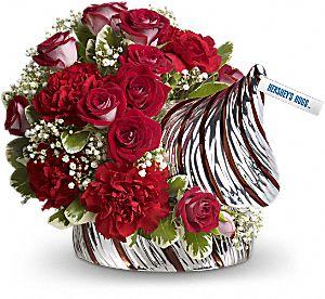 Hershey's Hugs Bouquet