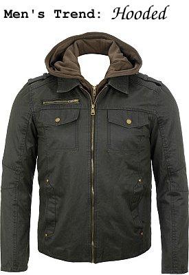Black Rivet Antique Cotton 4 Pocket Jacket