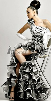 Blush 2011 Prom Dress 9047