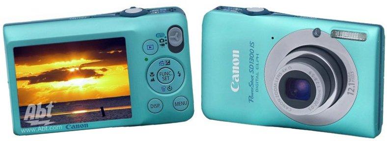 Canon PowerShot SD1300 digital camera