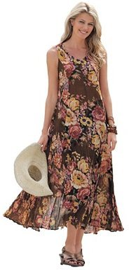 Cool crinkle textured dress