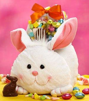 Happy Easter Cuddle Bunny Gift Basket