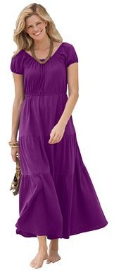 Peasant maxi dress by Only Necessities
