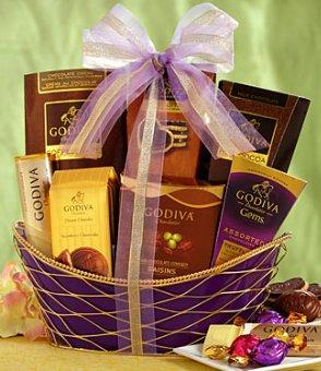 Spring Godiva Gourmet Gift Basket