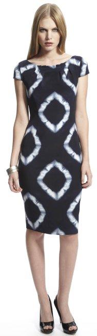 Anne Klein New York Tie Dye Sheath Dress