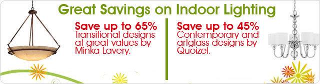 bellacor savings on indoor lighting