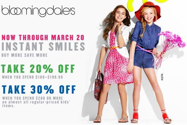bloomingdales kids sale