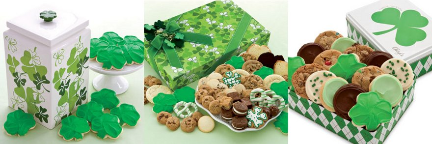cheryl's st. patty's day cookies