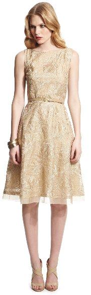 anne klein floral dress