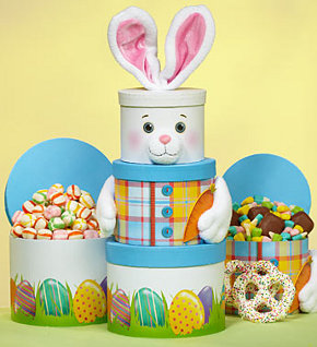 Easter Bunny Sweets Tower