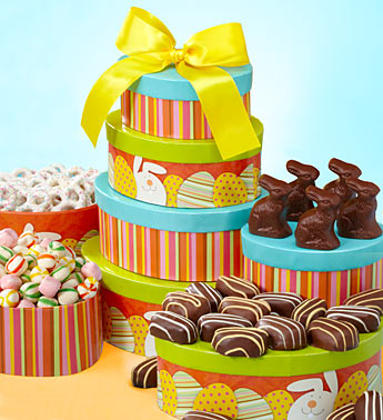 Happy Easter Assorted Sweets Tower