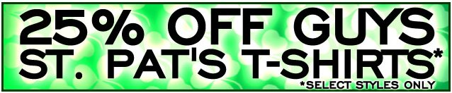 hot topic st patrick day offer