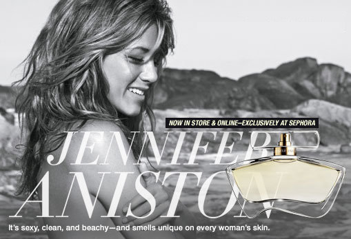 jennifer aniston fragrance