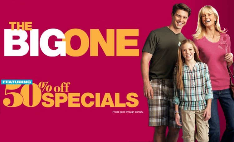 Kohl's The Big One Sale