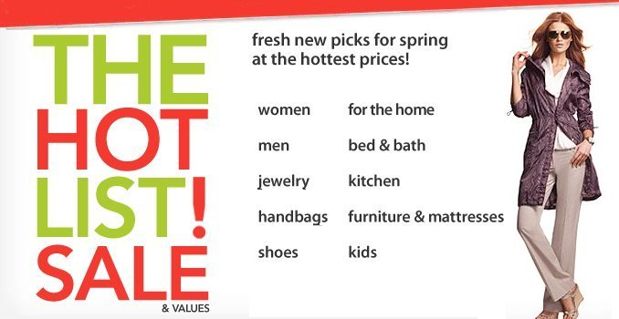 macys hot list sale