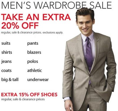 macys mens wardrobe sale