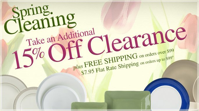 mikasa's spring cleaning sale1