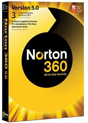 norton 360 version 5