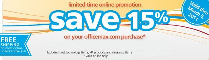 officemax offer