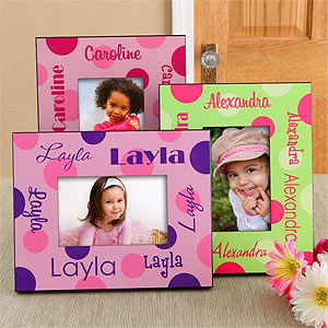 That's My Name Girls Personalized Frame