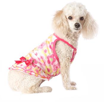 PETCO Smoochie Pooch Pink Floral Dog Dress