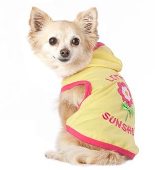 Pooch Little Sunshine Dog Hoodie